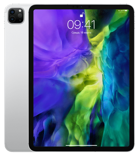 "Планшет Apple iPad Pro 11"" (2020) Wi-Fi 256Gb Silver (MTXR2)"