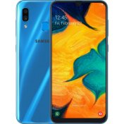 Смартфон Samsung Galaxy A30 64Gb Синий (SM-A305F)